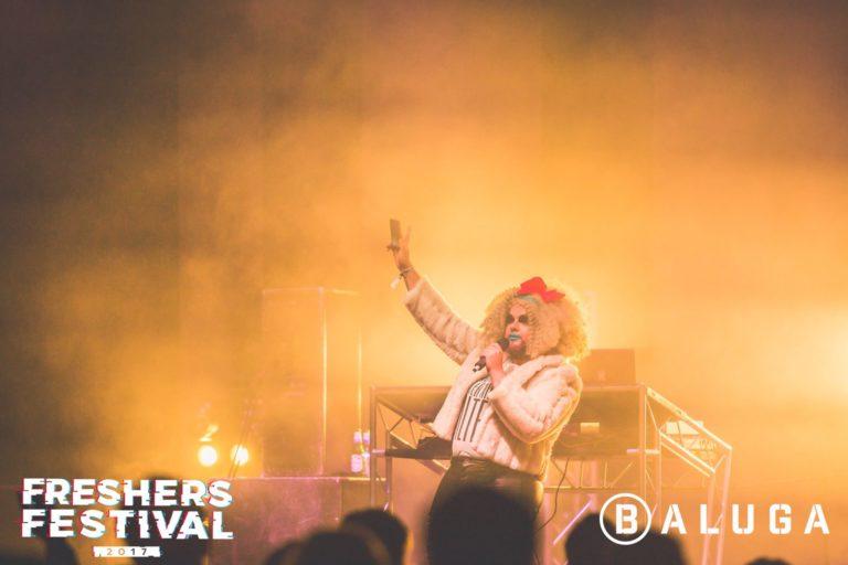 Crudi Dench at York Uni Freshers Festival