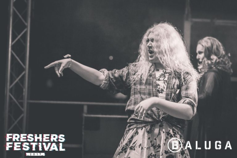 Burley Shassey at York Uni Freshers Festival